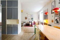 Gerenoveerde woonkamer met originele details   Inrichting-huis.com