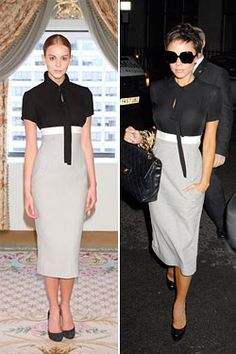 Classy Women, Classy Lady, Colourful Outfits, Dress Me Up, Victoria Beckham, Business Women, Lace Skirt, High Waisted Skirt, My Style