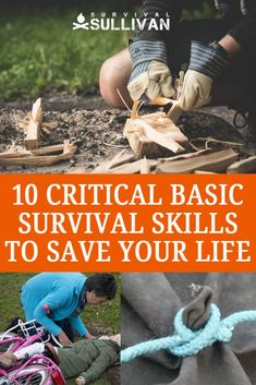 10 Critical Basic Survival Skills To Save Your Life – Survival Sullivan 10 Critical Basic Survival Skills To Save Your Life Related Wilderness Survival Tips That Could Save Your LifeObscure Bushcraft Skills You. Survival Life Hacks, Survival Food, Outdoor Survival, Survival Prepping, Emergency Preparedness, Survival Quotes, Camping Survival, Survival Gadgets, Survival Items