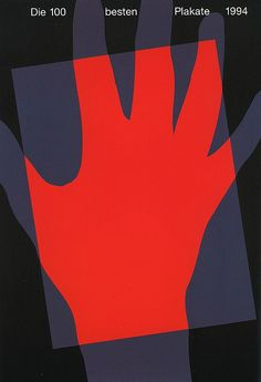 «Die 100 besten Plakate 1994 designed by Annette Kröger».