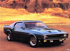 1969 Shelby GT350 Ford Mustang (black)