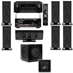 The best home theater system has surround sound and supports video. We tested top options from Onkyo, LG, and more to help make your choice easier. Home Audio Speakers, Diy Speakers, Audio Room, Hifi Audio, Best Home Theater System, Home Theater Speaker System, Home Theater Rooms, Home Theater Seating, Car Audio Systems