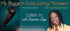 Listen in to my biggest podcasting mistakes on this podcast episode!