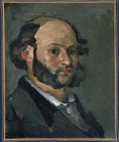 artist-cezanne: Portrait of Gustave Boyer via Paul Cezanne Size: 46x38 cm Medium: oil on canvas