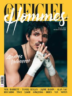 L'Officiel Hommes issue 6 Fashion Mag, Editorial Fashion, Fashion Models, Male Photography, Male Models, Img Models, How To Look Handsome, Magazine Editorial, Supermodels