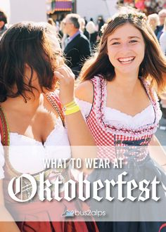 How to dress at Oktoberfest. Fit in like a local wearing a dirndl or lederhosen. Plus, we'll tell you the modern outfit updates to keep you comfortable throughout the weekend. Munich Oktoberfest, Oktoberfest Outfit, Modern Outfits, Cute Outfits, German Outfit, Dirndl Dress, Lederhosen, Bob Hairstyles, What To Wear