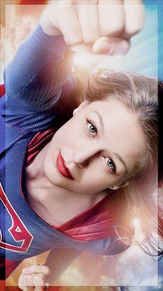 "Melissa Benoist as "" Supergirl """