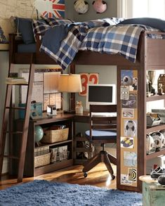 46 Stylish Ideas For Boy's Bedroom Design | Kidsomania.