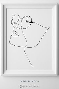 Single line face drawing. One line Face illustration. Fashion illustration printable art. Beautiful line art for wall décor. Minimalist wall art. Black and white pastel.