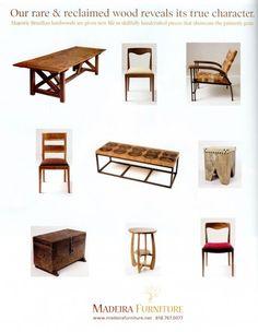 Design by Madeira Furniture, LA, www.madeirafurniture.net