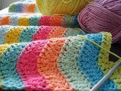crochet blanket: Karin aan de haak: Nog een....