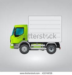 Detail Cargo Truck Icon