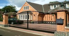 Important advice if you are considering installing Electric Gates #Homeautomation #technology #home #security http://www.techstore.ie/home-security-systems/