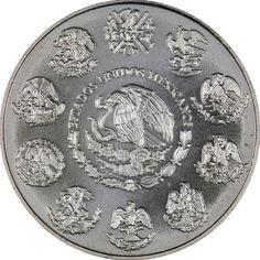 2000 Mexico Silver Libertad 1oz