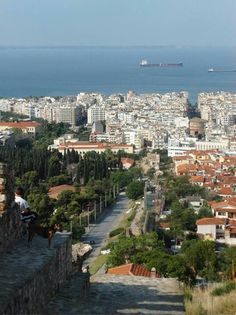 Can't wait to return to beautiful Thessaloniki Greece! Porches, Greece Thessaloniki, Macedonia Greece, One And Only, Paris Skyline, Places To Visit, City, Outdoors, Travel