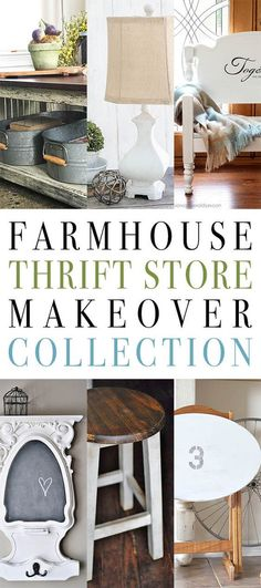 Farmhouse Thrift Store Makeover Collection - The Cottage Market