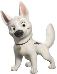 A little kid said Coco looked like Bolt one day, so maybe she can be Bolt for Halloween!