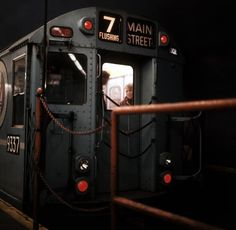 New York City  Subway Train 7 Magnum Photos