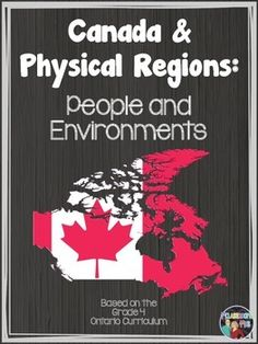 This Social Studies package includes: lessons for the unit lessons cover topics such as the political and physical regions of Canada the seven different physical regions of Canada what makes them uniques and what sort of resources they provide their Ontario Curriculum, Social Studies Curriculum, 6th Grade Social Studies, Social Studies Resources, Teaching Social Studies, Teacher Resources, Geography Of Canada, Canadian Social Studies, Study History