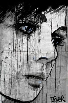 Loui Jover- She looks so sad, which is great because it means he's painted it in a way that clearly shows what she if feeling.