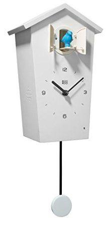 horloge coucou moderne mouvement 8 jours 19cm de rombach haas