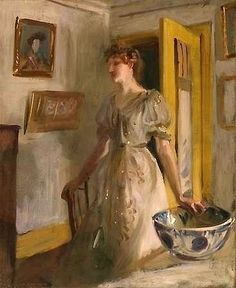 The Blue Bowl, 1887 ~ John Singer Sargent ~ (American: 1856-1925)