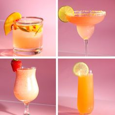 Rosé Cocktails 4 Ways | Recipes