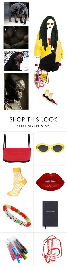 """""""Untitled #347"""" by jessica-mcmxcix ❤ liked on Polyvore featuring T By Alexander Wang, Dries Van Noten, Topshop, Miss Selfridge, Smythson, Glaze and pocpolyvore"""