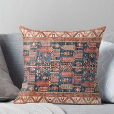 'turkish carpet' Throw Pillow by emirali kokal Floor Pillows, Throw Pillows, Pillowcases & Shams, Framed Prints, Canvas Prints, Persian Carpet, Rugs On Carpet, Duvet Covers