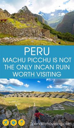 Everyone goes to Peru to see the Incan Ruins of Machu Picchu. But did you know there are many more famous ruins in the Cusco area? These are the 5 must-visit In