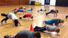 My students do the Daily dozen as our warm-up every day in Physical Education class. Every month I add a few new exercises and choreograph it to a song. This...
