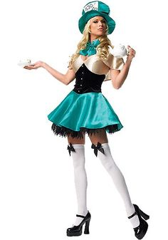 Sexy Mad Hatter Adult Costume-http://www.halloweencostumes.com/sexy-mad-hatter-adult-costume.html