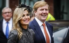 On October 8, 2015, Queen Maxima and King Willem-Alexander of The Netherlands visit the former mine region in Limburg, The Netherlands.