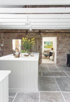 See This Cozy Scottish Kitchen In a Georgian Farmhouse