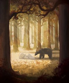 Fin del camino por heycris - Animales | Dibujando.net