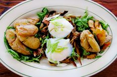 Stringhe Di Funghi at Rosemary's (Brunch) - 18 Greenwich Avenue (at West 10th Street); (212) 647-1818.