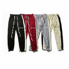 (Sponsored)eBay - New FOG High Strret Sport Trousers Essentials Fear of God Drawstring Sweatpants Kanye West Concert, Travis Scott Astroworld, Joggers, Sweatpants, Sports Trousers, Men Store, Pullover, Unisex, Hoodies