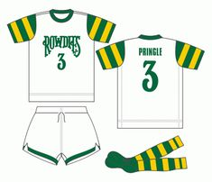 Tampa Bay Rowdies home kit for 1975. 12d0f48e79df3