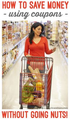 A guide for couponing for beginners. It's easy to save money without going nuts and these tips can help you save big on your grocery bill! Ways To Save Money, Money Tips, Quick Money, 52 Week Money Challenge, Couponing For Beginners, Coupon Organization, Organizing, Money Saving Meals, Best Black Friday