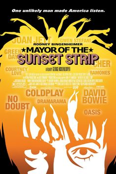 Mayor of the Sunset Strip , starring Rodney Bingenheimer, David Bowie, Joey Ramone, Tori Amos. A look at the history of fame in the world through the eyes of pop star impresario, Rodney Bingenheimer #Documentary #Biography #Music