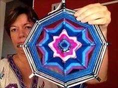 Mandalas Olhos de Deus 4 Pontas -Descubra Macetes que Ninguém Vai te  Contar... artesanato - YouTube