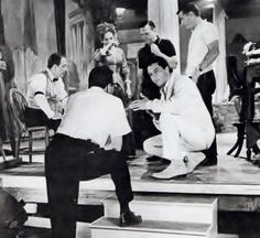 1966 3 31 Frankie and Johnny =  Elvis on set with director, Frederick de Cordova