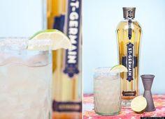 Saint Germain Cocktails: Margarita, champagne cocktail, pink grapefruit/gin yummy, sangria...