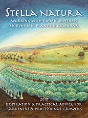 Steiner - Stella Natura Biodynamic Planting Calendar: Planting Charts and Thought-Provoking Essays Biodynamic Gardening, Micro Farm, Crochet Hair Styles, Garden Styles, Thought Provoking, Garden Wedding, Calendar, Crochet Hats, Advice