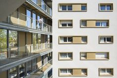 Gallery of Social Housing Residence / PetitDidier Prioux Architectes - 11