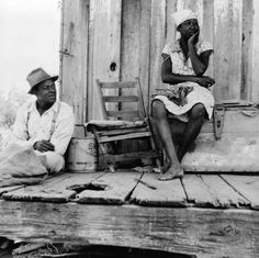 vintage pictures of african americans | Description: Photo of a Negro sharecropper and wife, Mississippi. They ...