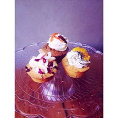 """""""#cakes in the #bakery now! #carrotcake w/ #pecan & candied carrot, #rose & #coconut or #candied #orange & #poppyseed #friands"""""""