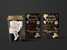 """"" Break away for some nourishing with LADY GOURMET's Instant Soup Whether  you're busy with work, studies or even household chores, it's good to take  a breather from your routine and treat yourself to something warm and  nourishing."""