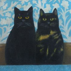 Millie & Inky by Martin Leman
