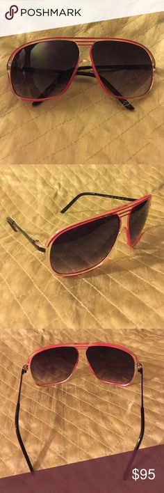 Armani Exchange Aviators Beautiful purple grade on lens pink rim very sexy glasses you will love these a must have in your closet. Condition 9/10 no box. A/X Armani Exchange Accessories Glasses